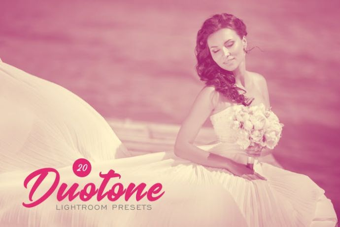20-Duotone-Lightroom-Presets - 75+ Awesome Lightroom Creative Digital Photography [year]