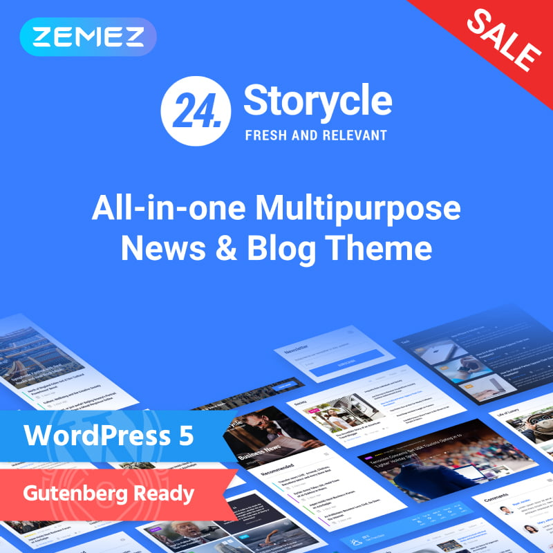 24.Storycle-Multipurpose-News-Portal-Elementor-WordPress-Theme - 10+ Best WordPress Blog Themes For Your Website [year]