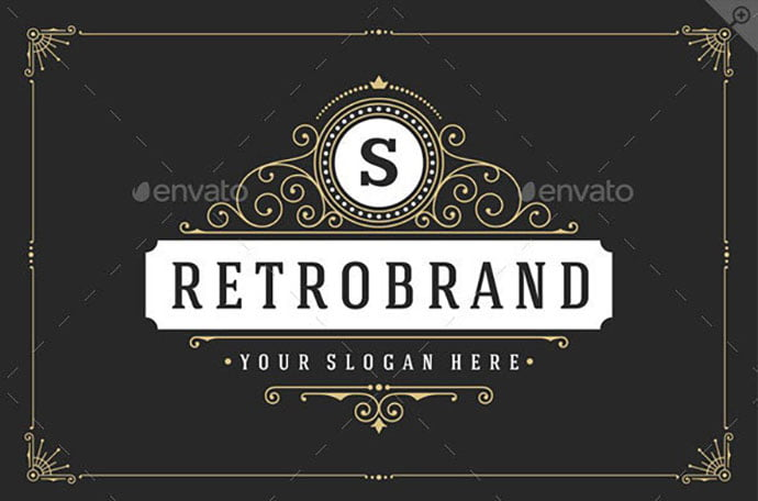 25-Ornaments-Logotypes-and-Monograms - 35+ Excellent Monogram Logo Design Templates