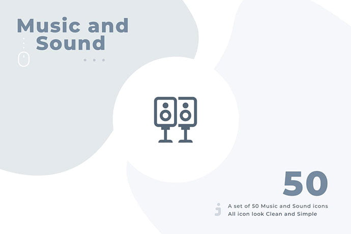 50-Music-and-Sound-icon-set-Material - 35+ Best Music & Sound Icon Sets [year]