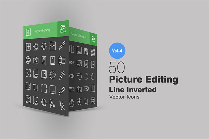 50-Picture-Editing-Line-Inverted-Icons - 35+ Stunning Photography Icon Sets [year]