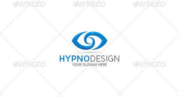 Abstract-Eye-Logo - 35+ Awesome Eye Logo Design Templates [year]