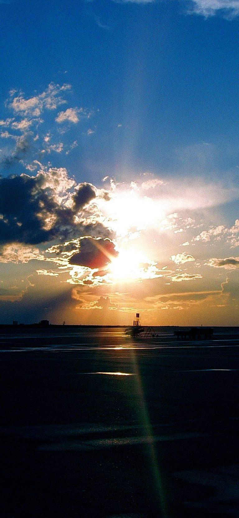 Airport-Sunset-1080x2340-768x1664 - 50+ Free Xiaomi Mi CC9 Phone Wallpapers [year]