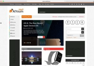 AlYoum-1-300x211 - 46+ Best WordPress Newspaper Themes for News Sites [year]