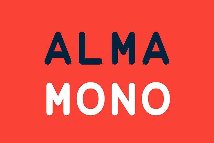 Alma-Mono - 35+ Effective Fonts for Brochure Design [year]