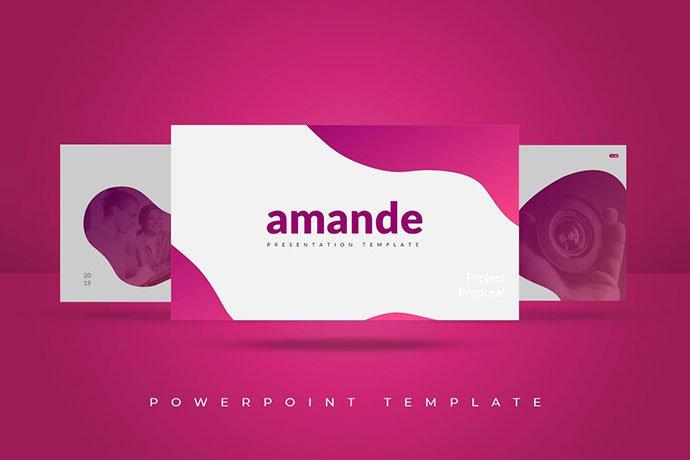 Amande - 35+ Blast of Bright PowerPoint Templates [year]