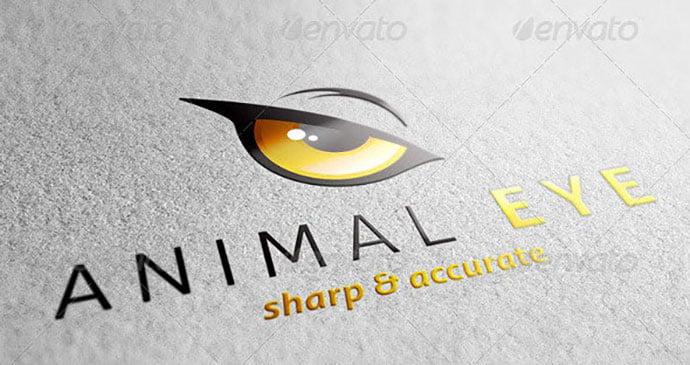 Animal-Eye-Logo - 35+ Awesome Eye Logo Design Templates [year]