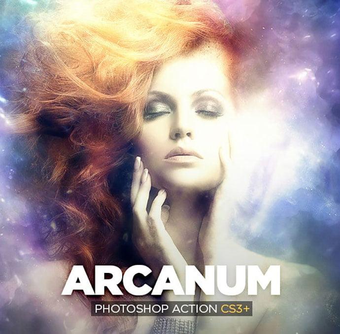Arcanum-Photoshop-Action-CS3 - 35+ Attractive Glow Effect Photoshop Actions [year]