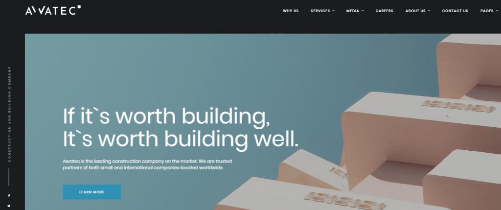 Awatec - 60+ HTML Interior & Furniture Website Templates [year]