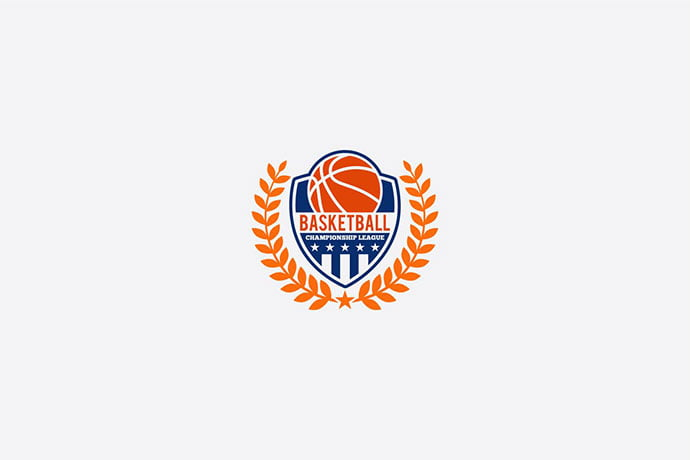 BASKETBALL3 - 35+ Amazing Heraldry Logo Design Templates [year]
