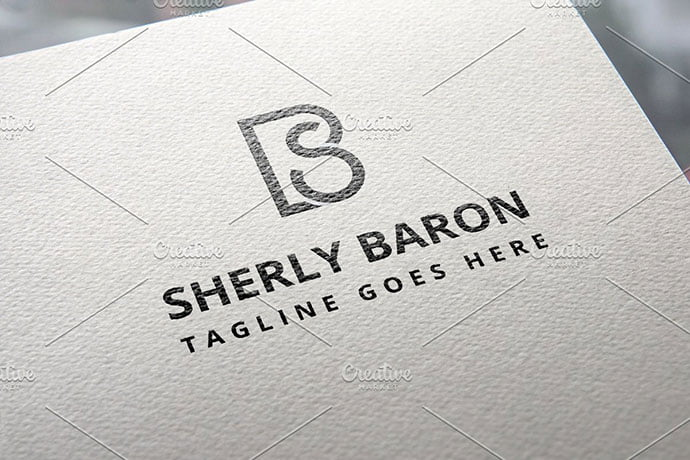 BS-Monogram-Logo - 35+ Excellent Monogram Logo Design Templates