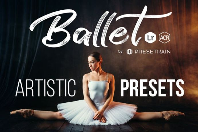 Ballet-Artistic-Presets - 75+ Awesome Lightroom Creative Digital Photography [year]