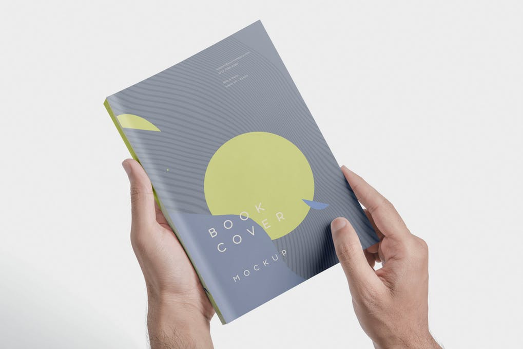 Beautiful-Book-Cover-Mockups - 35+ PSD Book Cover Mockup Templates [year]