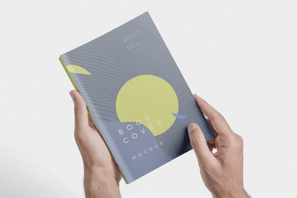 Beautiful-Book-Cover-Mockups - 35+ PSD Book Cover Mockup Templates