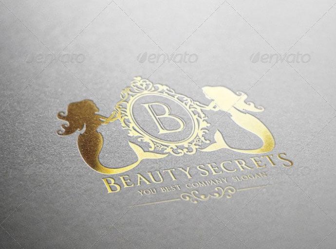 Beauty-Secrets - 50+ Stunning Beauty Salon Logo Design Templates [year]