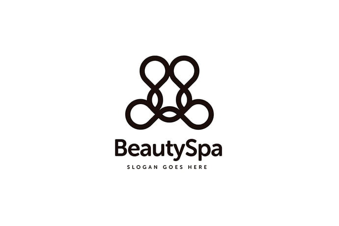 Beauty-Spa-Logo-Template - 50+ Stunning Beauty Salon Logo Design Templates [year]
