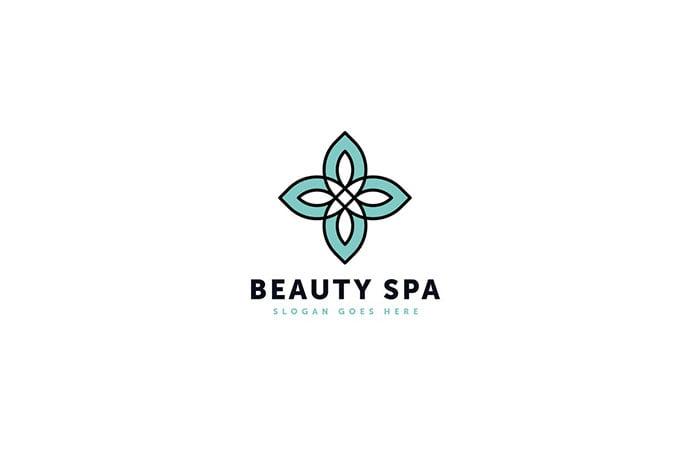 Beauty-Spa - 50+ Stunning Beauty Salon Logo Design Templates [year]
