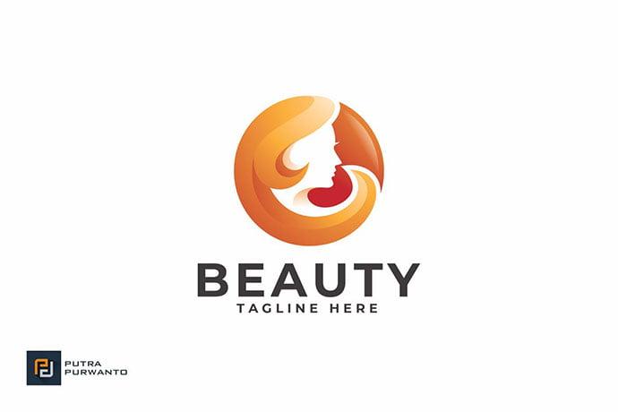 Beauty - 50+ Stunning Beauty Salon Logo Design Templates [year]
