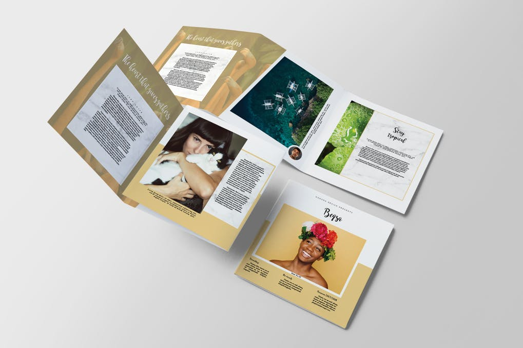 Beqsa-Square-Trifold-Brochure - 35 + Calm PSD & InDesign Travel Brochure Templates [year]