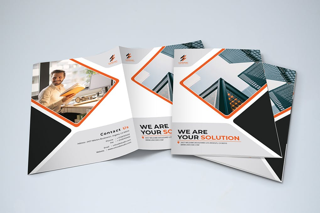 Bifold-Brochure - 35 + Calm PSD & InDesign Travel Brochure Templates [year]