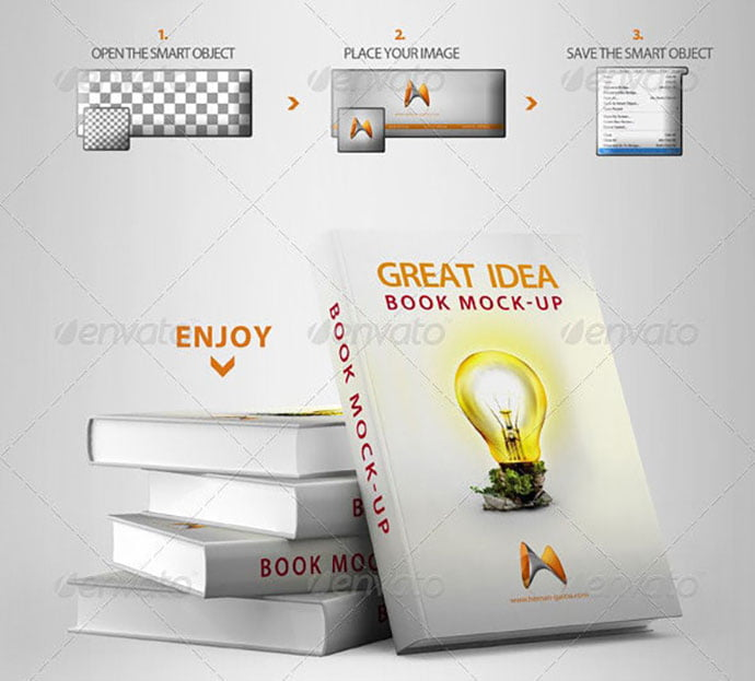 Book-Cover-Mock-Up-1 - 35+ PSD Book Cover Mockup Templates