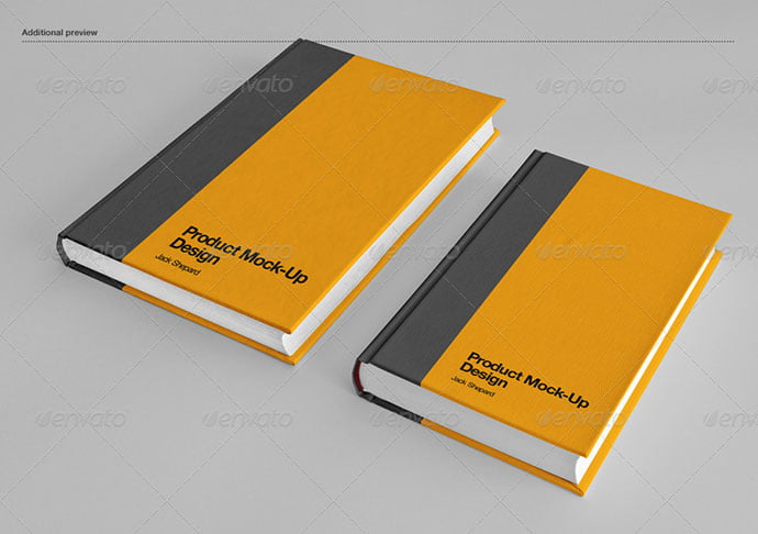 Book-Cover-Mock-Up - 35+ PSD Book Cover Mockup Templates