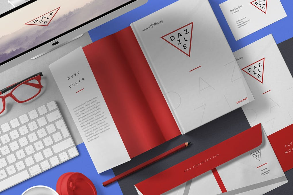 Book-Cover-Mockup-Scenes - 35+ PSD Book Cover Mockup Templates [year]
