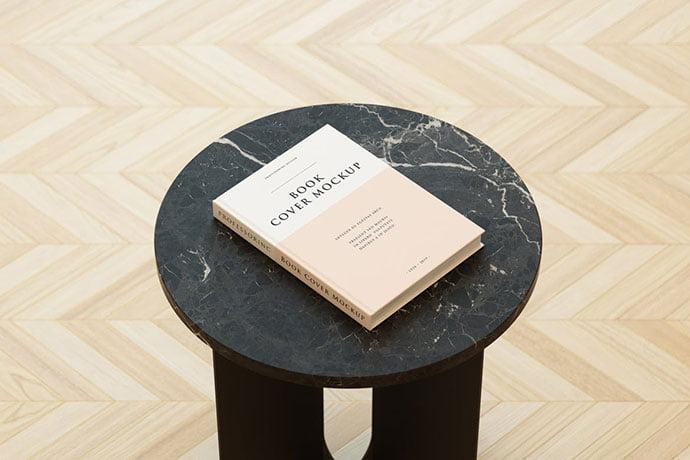 Book-Cover-Mockup - 35+ PSD Book Cover Mockup Templates