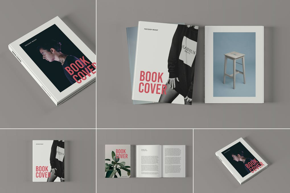 Book-Cover-Mockups-1 - 35+ PSD Book Cover Mockup Templates [year]