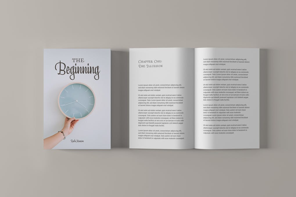 Book-Cover-Mockups - 35+ PSD Book Cover Mockup Templates