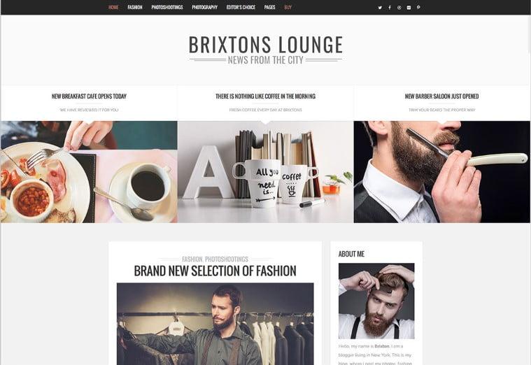 Brixton - Top 60+ News Magazine WordPress Themes [year]