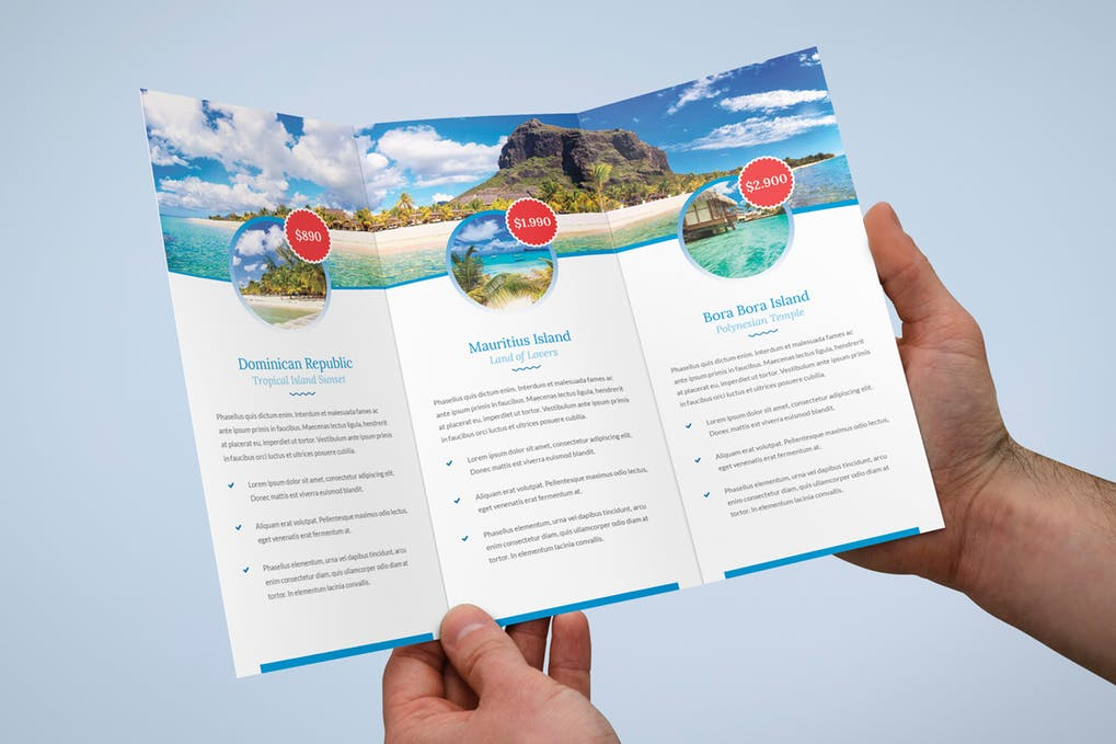 Brochure-–-Travel-Agency-Tri-Fold - 35 + Calm PSD & InDesign Travel Brochure Templates [year]