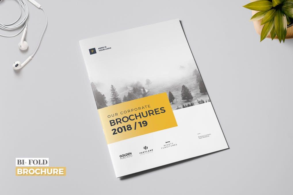 Business-Bi-Fold-Brochure - 60+ Bi-fold & Tri-fold Brochure Design Templates [year]