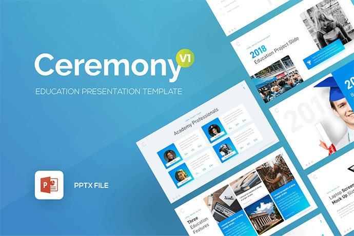 Ceremony - 30+ PowerPoint Templates for School or College [year]