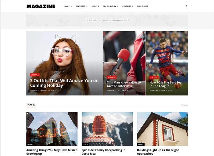 CheerUp - Top 60+ News Magazine WordPress Themes [year]