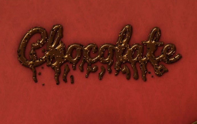 Chocolate-Text-Effect-v1 - 35+ Tasty Food & Drink Photoshop Text Effects