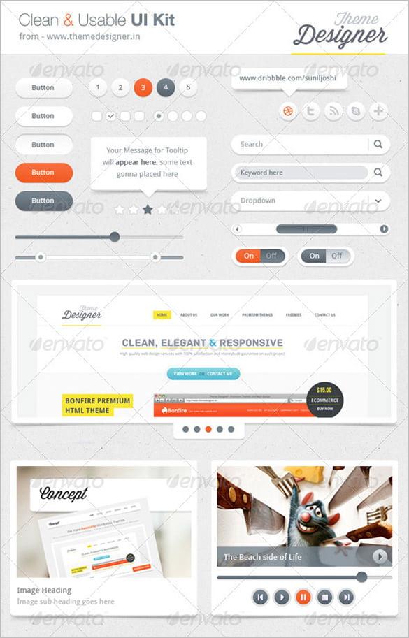 Clean - 35+ Free PSD Admin Template Designs [year]