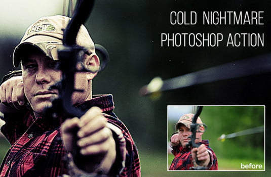 Cold-Nightmare - 64+ FREE Amazing Photoshop Actions [year]