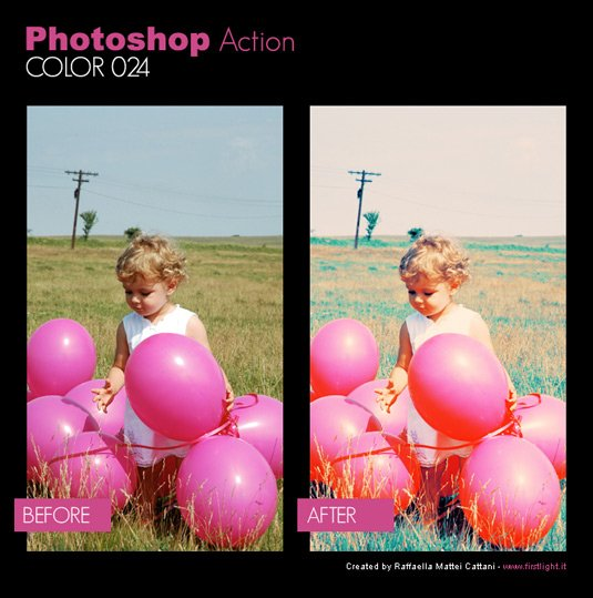 Color-024 - 64+ FREE Amazing Photoshop Actions [year]