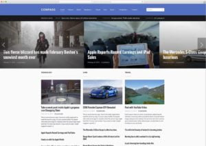 Compass-300x213 - 46+ Best WordPress Newspaper Themes for News Sites [year]