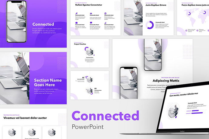 Connected - 35+ Blast of Bright PowerPoint Templates [year]