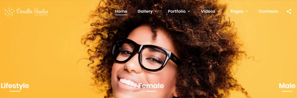 Corallo-Studio - 60+ HTML Interior & Furniture Website Templates [year]