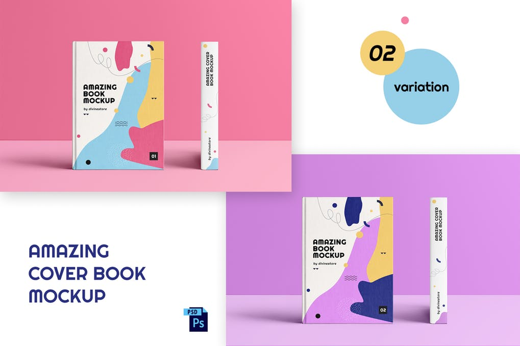 Cover-Book-Mockup - 35+ PSD Book Cover Mockup Templates [year]