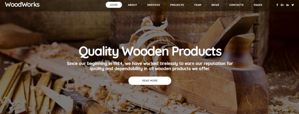 Crafter - 60+ HTML Interior & Furniture Website Templates [year]