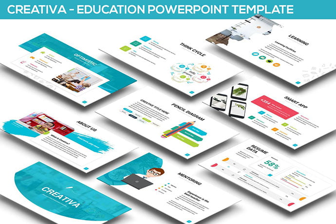 Creativa - 30+ PowerPoint Templates for School or College [year]