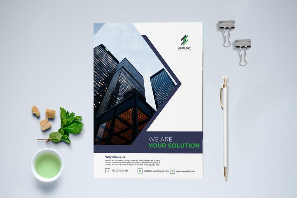 Creative-Brochure-Bi-Fold - 60+ Bi-fold & Tri-fold Brochure Design Templates [year]