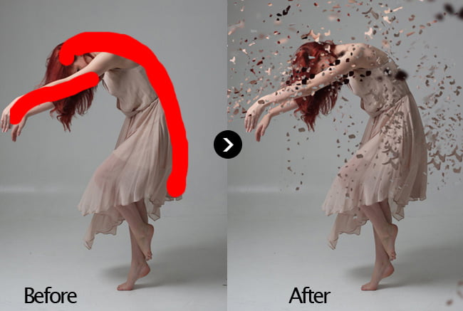 Dispersion-Effect - 64+ FREE Amazing Photoshop Actions [year]
