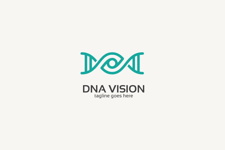 Dna-Eye-Logo - 35+ Awesome Eye Logo Design Templates [year]