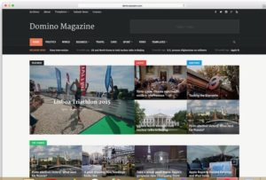 Domino-2-300x203 - 46+ Best WordPress Newspaper Themes for News Sites [year]