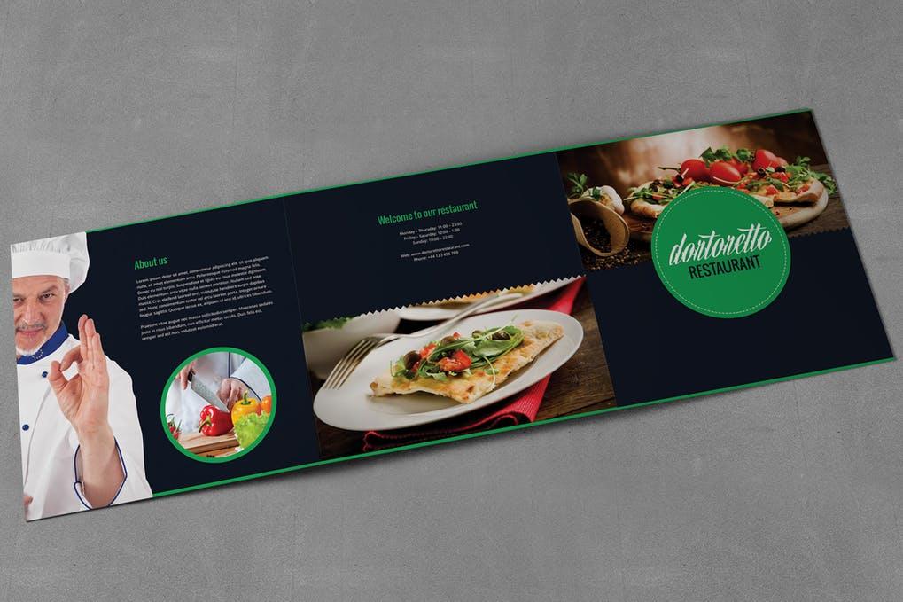 Dortoretto-Brochure-Tri-Fold-Square - 60+ Bi-fold & Tri-fold Brochure Design Templates [year]